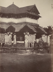 Hurphunhullee. A temple. [Corrected caption: The Chandranatha Basti, Mudabidri.] 965175